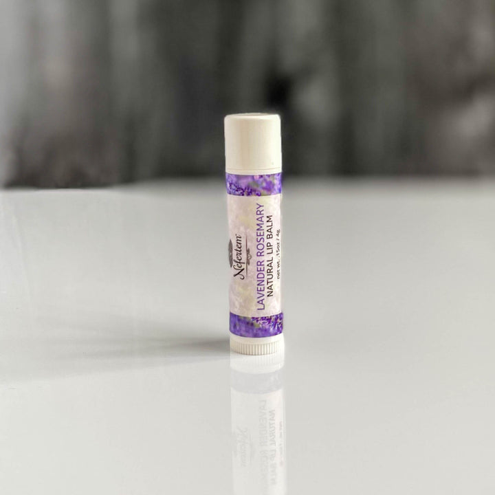 lavender rosemary natural lip balm