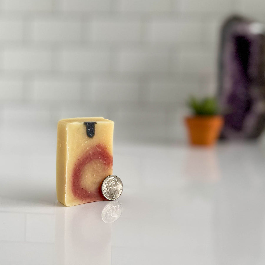 balance mini soap by nefertem holistic skincare