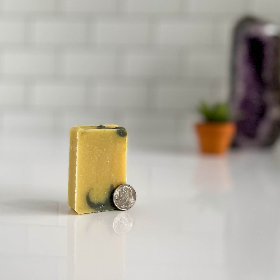 Clarity natural soap mini by nefertem holistic skincare