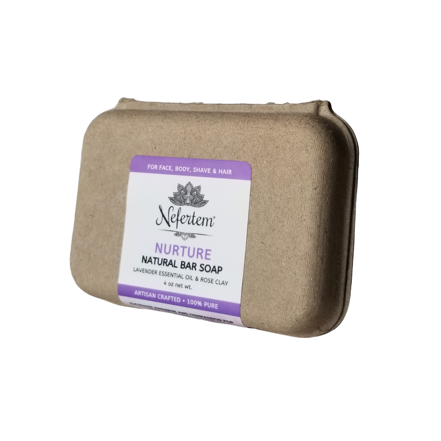 natural lavender soap with organic ingredients