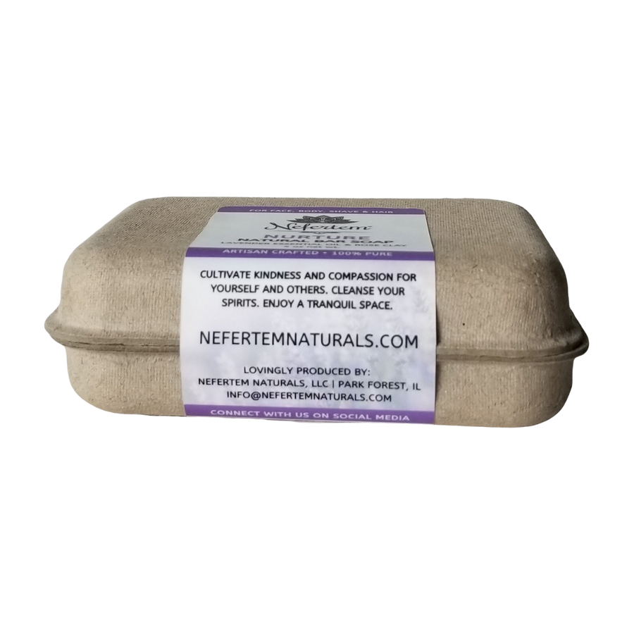 lavender natural soap by nefertem