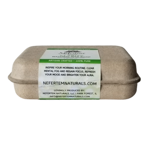 natural aromatherapy soap with essential oils