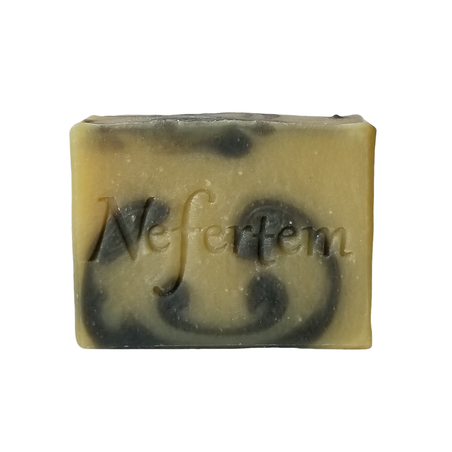aromatherapy soap bar with vetiver
