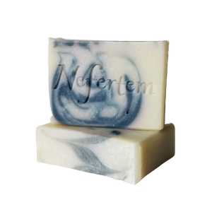 peppermint rosemary soap with natural ingredients