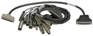 NEW Digigram PCX440e XLR Audio Breakout Cable SC196900101-01 & SC185800101-01-www.prostudioconnection.com
