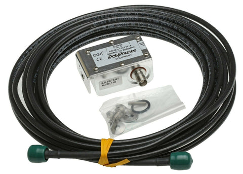 Microsemi 150-709 GPS Antenna Lightning Protector Polyphaser Surge w/ 25ft Cable-www.prostudioconnection.com