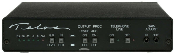 Telos One Cased w/SAA Auto Answer Digital Phone Hybrid Broadcast Audio Interface [Refurbished]-www.prostudioconnection.com