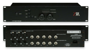 Z-Sys Digital Detangler 3:5:0 3x AES XLR 5x Coax S/PDIF 24KHz 96bit Audio Router [Refurbished]-www.prostudioconnection.com
