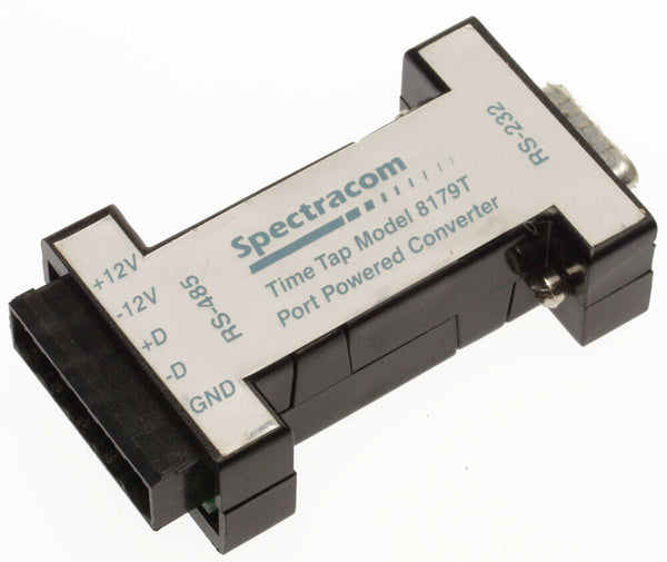 Spectracom 8179T TimeTap RS-485 to RS-232 Serial Timecode Format Converter NEW-www.prostudioconnection.com