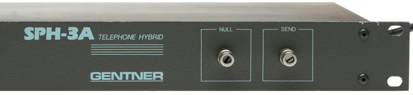 Gentner SPH-3A Broadcast Hybrid Phone Line Audio Console Mixer Interface SPH3A [Refurbished]-www.prostudioconnection.com
