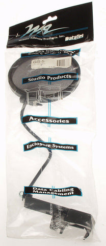 "Middle Atlantic GS-5 5"" Flexible Gooseneck Microphone Pop Shield Filter Screen-www.prostudioconnection.com"