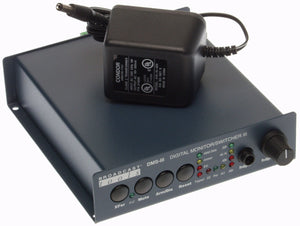 Broadcast Tools DMS-III AES/EBU Digital Audio Switcher Silence Sensor Failover [Refurbished]-www.prostudioconnection.com