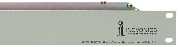 Inovonics 711 RDS RBDS RadioData Station Name Encoder TA Flag RS-232 Radio Data [Used]-www.prostudioconnection.com