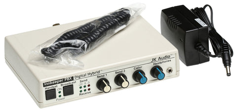 JK Audio Innkeeper PBX Digital Hybrid Broadcast Phone Handset Audio Interface [Refurbished]-www.prostudioconnection.com
