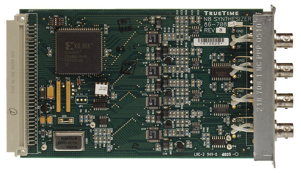 Symmetricom TrueTime 86-708-1 N8 Frequency Synthesizer Triax RS-422 Add-In Card [Refurbished]-www.prostudioconnection.com
