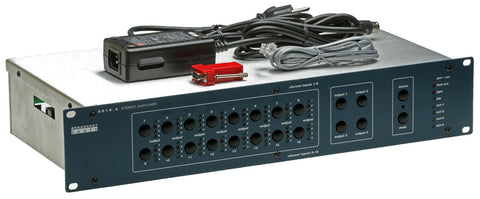 Broadcast Tools SS16.4 Stereo Audio Matrix Switcher/Router Automation GPI RS-232 [Refurbished]-www.prostudioconnection.com