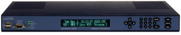 NEW Symmetricom SyncServer S200 OCXO UPGRADED GPS NTP Network Time Server-www.prostudioconnection.com
