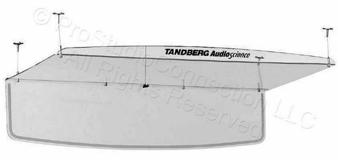 Cisco Tandberg AudioScience Conferencing Ceiling Microphone Audio Science (New)-www.prostudioconnection.com