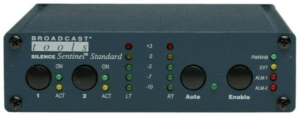 Broadcast Tools Silence Sentinel Standard Audio Signal Monitor Alarm Failover-www.prostudioconnection.com
