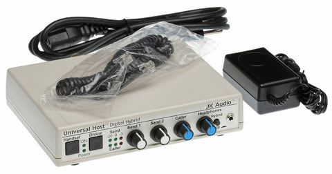JK Audio Universal Host USB Digital Hybrid Phone Broadcast Audio Mixer Interface [Refurbished]