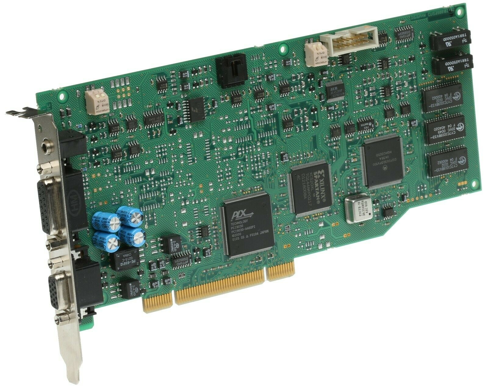 Digigram PCX924 v2 Broadcast AES/EBU & Balanced Analog Audio Sound Card [Used]-www.prostudioconnection.com