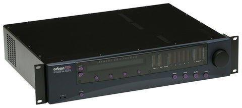 Orban Optimod-AM 9200 Digital On Air Broadcast Processor 5-Band w/XLR Analog I/O [Refurbished]-www.prostudioconnection.com