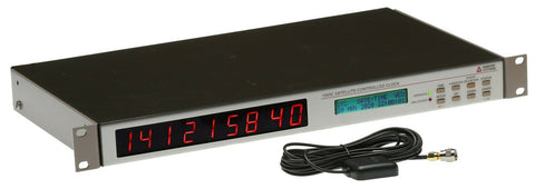 Arbiter Systems 1093C UPGRADED GPS Time Atomic Master Clock Receiver LED Display [Refurbished]-www.prostudioconnection.com
