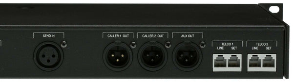 Comrex DH22 Dual Digital Hybrid Broadcast Phone Line Audio Interface IFB Shipped [Refurbished]-www.prostudioconnection.com