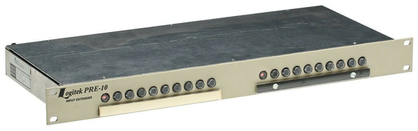 Logitek Pre 10 Input Stereo Extender Selector Switch Balanced Analog Audio 10S [Used]-www.prostudioconnection.com