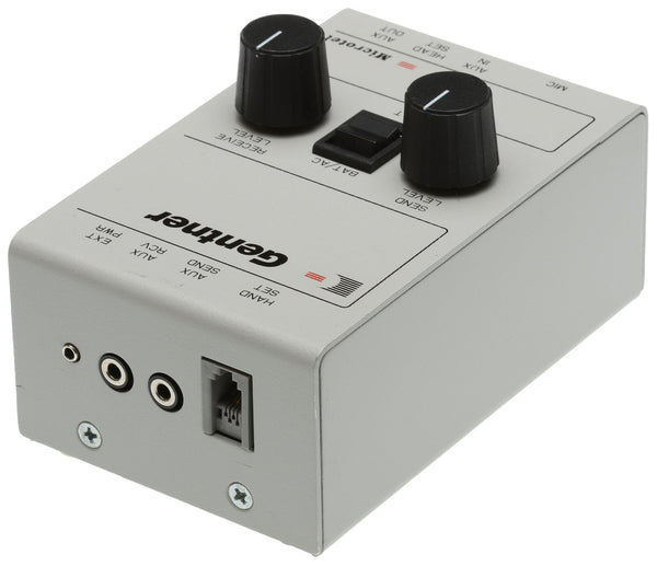 Gentner Microtel Broadcast Telephone Handset Line Interface Recording Patch IFB [Refurbished]-www.prostudioconnection.com