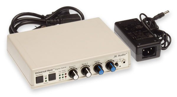 JK Audio Universal Host Digital Hybrid USB Phone Line Audio Recording Interface [Refurbished]-www.prostudioconnection.com