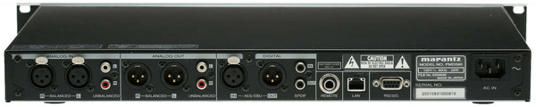 Marantz PMD580 Balanced XLR AES Digital Networked Solid State Recorder Rackmount [Refurbished]-www.prostudioconnection.com