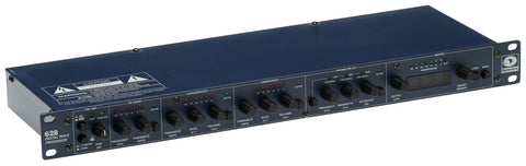 Symetrix 628 AES Digital Mic Preamplifier Voice Dynamics EQ Processor Compressor [Refurbished]-www.prostudioconnection.com