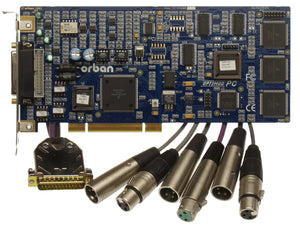 Orban Optimod PC1100 v2 Win10 Compatible On-Air Processing PCI Card XLR w Cables [Refurbished]-www.prostudioconnection.com