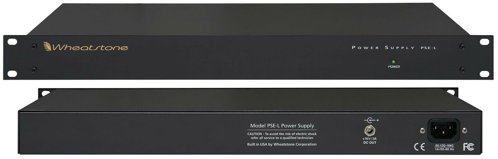 Wheatstone PSE-L Spare/Redundant Power Supply L-12 Console Surface - NEW IN BOX [New]-www.prostudioconnection.com
