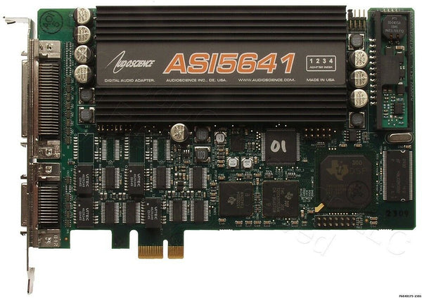 AudioScience ASI5641 AES Digital Audio Multichannel Quad Output Broadcast Card [Refurbished]-www.prostudioconnection.com