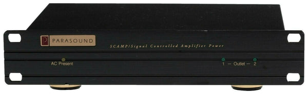 Parasound SCAMP Audio Signal Controlled AC Switch Power Auto Amplifier Trigger [Refurbished]-www.prostudioconnection.com