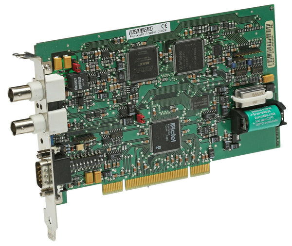 Meinberg TCR167PCI IRIG-B Timecode Input/Output Receiver Interface PCI Card [Used]-www.prostudioconnection.com