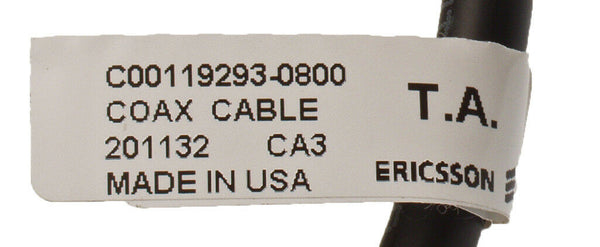 Coax 30in Pigtail N Male to SMA Female Andrew CNT-240-FR RG-8X 50? Jumper Cable [New]-www.prostudioconnection.com