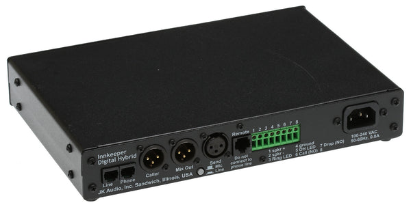 JK Audio Innkeeper 1 Digital Hybrid Broadcast Host Phone Line Audio Interface [Refurbished]