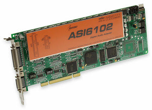 Audioscience ASI6102 Multichannel MRX TSX Broadcast Sound Card 2 Analog/AES Out [Refurbished]-www.prostudioconnection.com