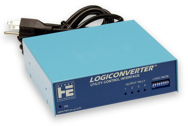Henry Engineering Logiconverter Logic Opto-Isolated Latching GPI Relay Interface-www.prostudioconnection.com