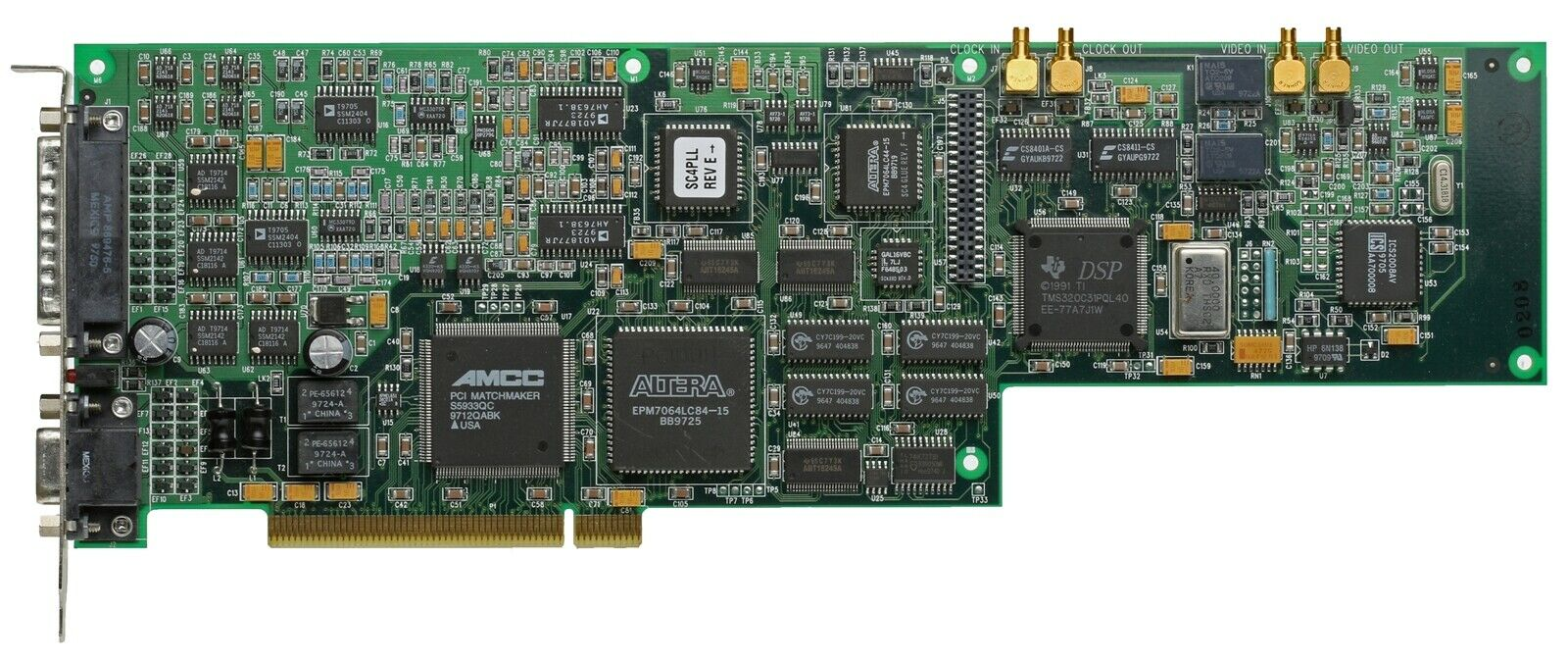 Antex StudioCard AV Pro SMPTE NLE Broadcast Studio Card Balanced Analog AES/EBU [Used]-www.prostudioconnection.com
