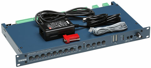 Broadcast Tools ACS 8.2 Plus Stereo Balanced Automation RS-232 Switcher Router-www.prostudioconnection.com