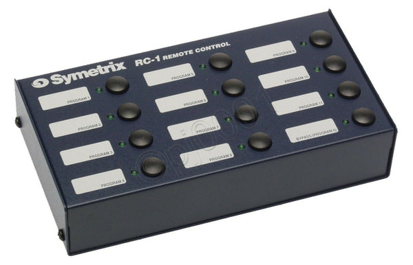 NEW IN BOX Symetrix Airtools RC-1 Midi Remote Control Preset Panel 628 6200 RC1-www.prostudioconnection.com