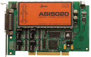 AudioScience ASI5020 Multichannel Balanced Analog Broadcast PCI Sound Card 5020 [Refurbished]-www.prostudioconnection.com