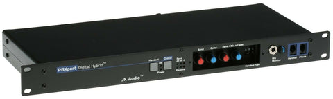 JK Audio PBXport PBX Broadcast Host Phone Audio Digital Hybrid Handset Line Tap [Refurbished]-www.prostudioconnection.com
