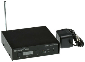 Broadcast Vision BV900 Low Power 900MHz FM Transmitter for Sports Bar Gym etc [Used]-www.prostudioconnection.com