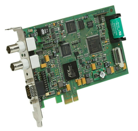 Meinberg TCR170PEX IRIG-B Timecode Input/Output Receiver Interface PCIe Card [Used]-www.prostudioconnection.com