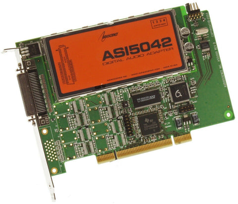 AudioScience ASI5042 Multichannel Balanced Analog XLR Broadcast Sound Card [Refurbished]-www.prostudioconnection.com